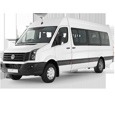 Аренда Фольксваген Крафтер микроавтобус с водителем в Москве