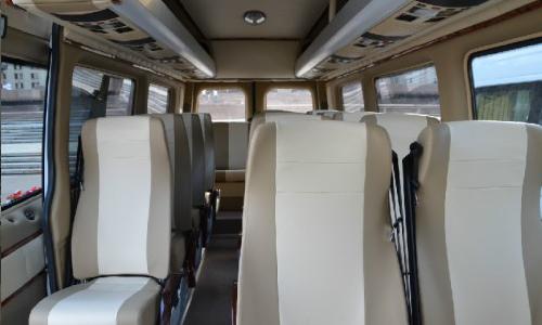Аренда Мерседес Спринтер 515 микроавтобус с водителем в Москве