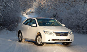 Заказать Тойота Камри NEW с водителем в Москве