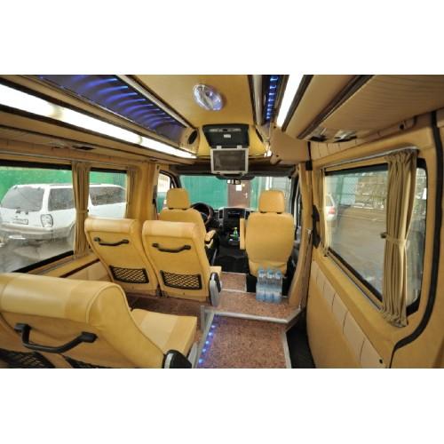 Аренда Мерседес Спринтер 311 микроавтобус с водителем в Москве