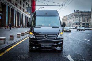 Аренда Мерседес Спринтер VIP микроавтобус с водителем в Москве