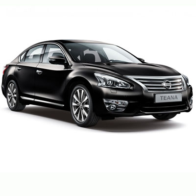 NISSAN TEANA RENT IN MOSCOW WITH THE DRIVER
