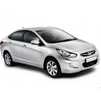 HENDA SOLARIS RENT IN MOSCOW WITH THE DRIVER