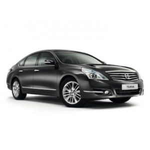 Nissan Teana rental in Moscow with a driver
