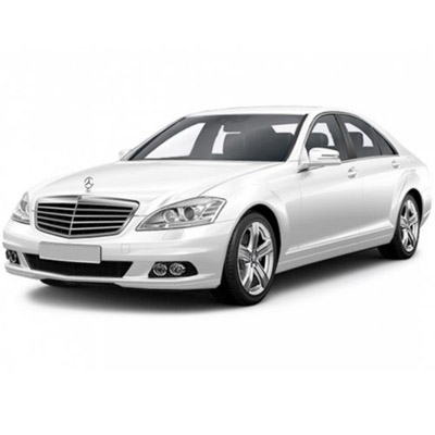 RENT Mercedes S450 W221 (restyle.white) IN MOSCOW WITH THE DRIVER