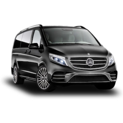Mercedes V class rental in Moscow with a driver