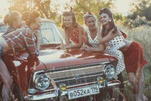 Аренда автомобиля на девичник в Москве
