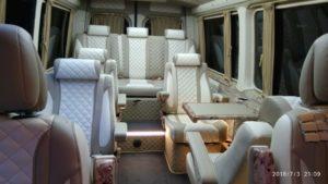 Микроавтобус салон