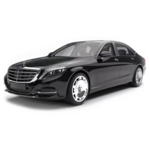 Maybach black rent for a wedding