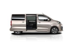Citroen Spacetourer вид с боку