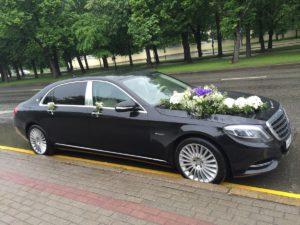 Черный майбах арендовать на свадьбу в Москве