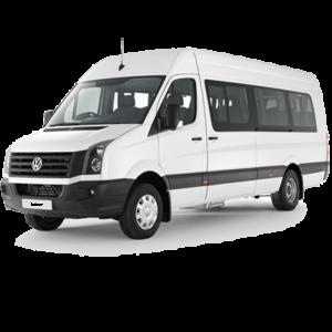 Аренда микроавтобуса Фольксваген Крафтертрансфер в аэропорт