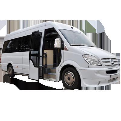 Аренда микроавтобуса Мерседес Спринтер 515 трансфер в аэропорт