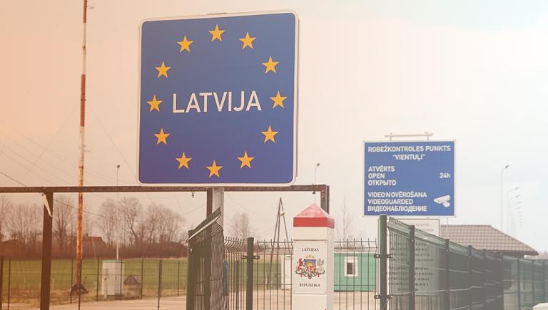 Аренда авто до границ Латвии